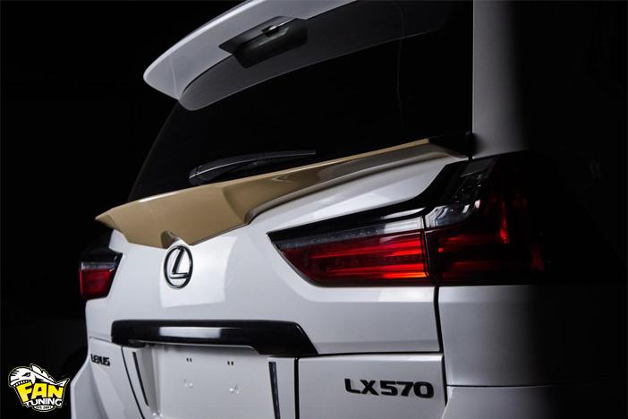 Аэродинамический обвес Space на Лексус (Lexus) LX570/LX450d