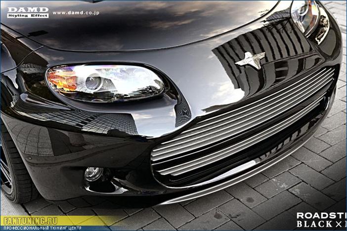 Аэродинамический обвес DAMD Black x Metal на Мазду (Mazda) MX-5 (Miata)