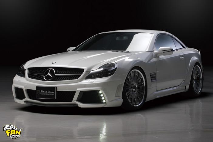 Внешний тюнинг (бодикит) Валд (WALD) на Мерседес (Mercedes) SL R230
