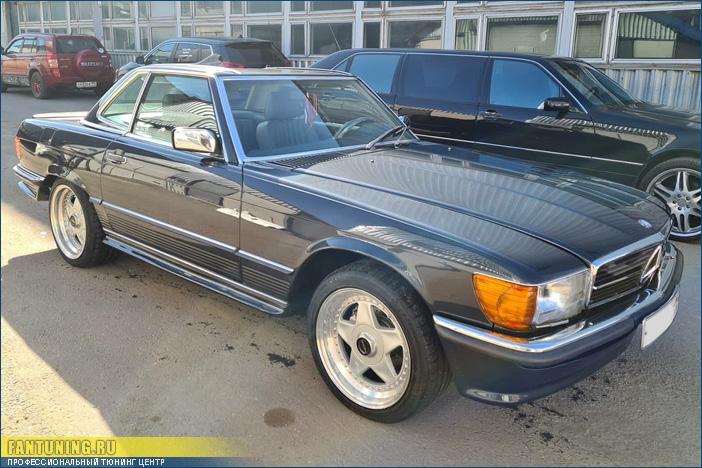 Аэродинамический обвес АМГ (AMG) для Мерседеса (Mercedes-Benz) SL W107