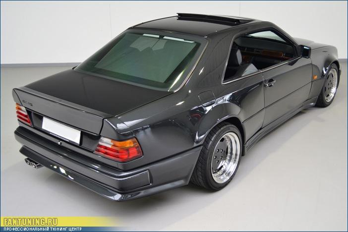 Крылья для переделки обычного Mercedes W124 Coupe в легендарный W124 Hammer