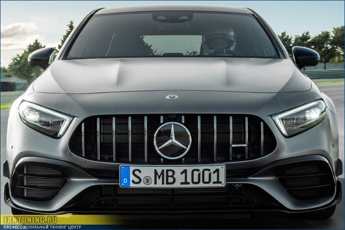Аэродинамический обвес A45 AMG на Mercedes-Benz A-Klasse W177