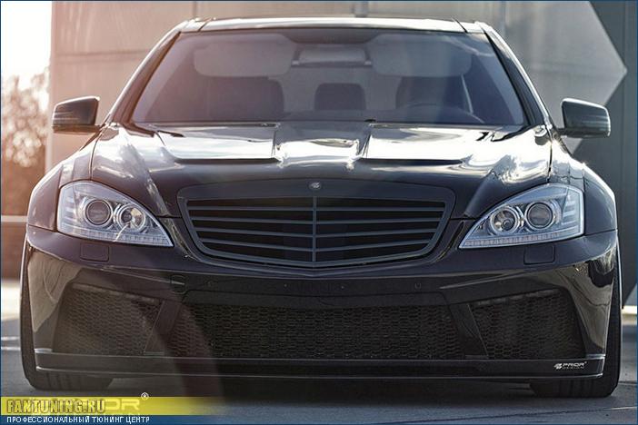 Аэродинамический обвес Приор Дизайн (Prior Design) на Мерседес ( Mercedes ) W221 (с 2009 года)