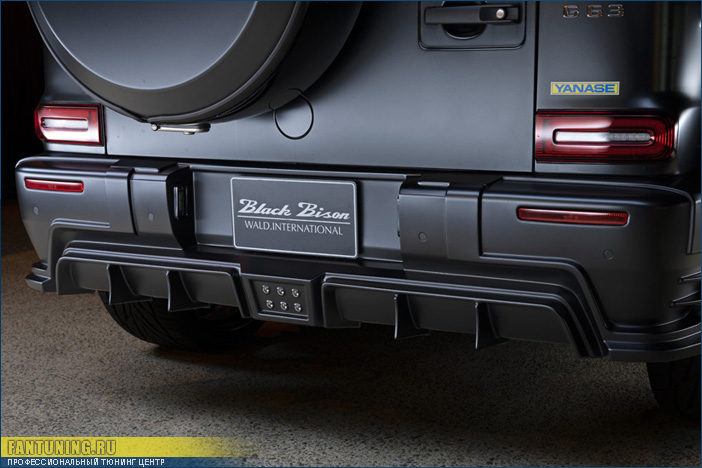Аэродинамический обвес WALD на новый Гелендваген (Mercedes G) W464