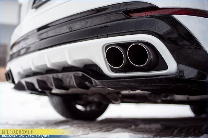 Аэродинамический обвес MTR на Порше Кайен (Porsche Cayenne) 959