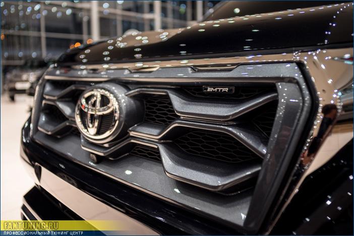 Аэродинамический обвес MTR на Тойоту (Toyota) Land Cruiser 150 Prado 2018 модельного года