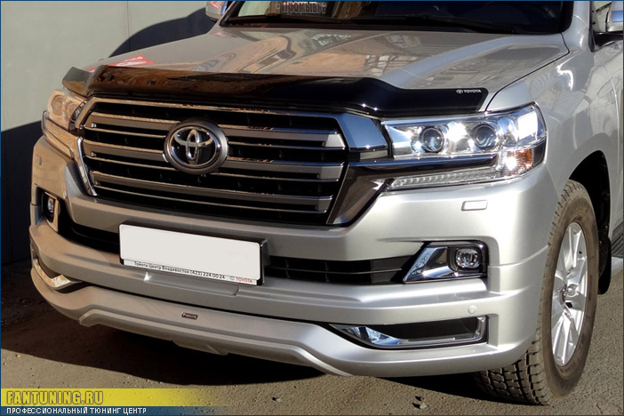 Аэродинамический обвесМоделиста (Modelista) на Тойоту Ленд Крузер (Toyota Land Cruiser) 200 2015+