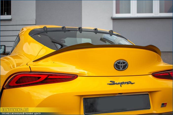 Аэродинамический обвес на Тойоту Супра (Toyota Supra) V