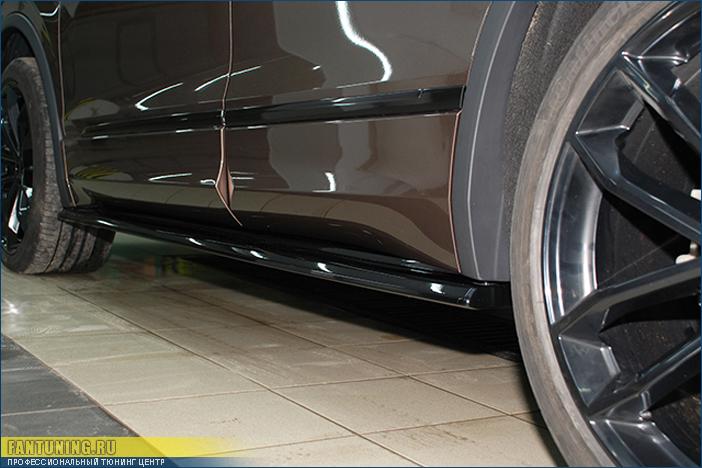 Аэродинамический обвес на Фольксваген Тигуан (Volkswagen Tiguan) MK2 R-Line/Sportline
