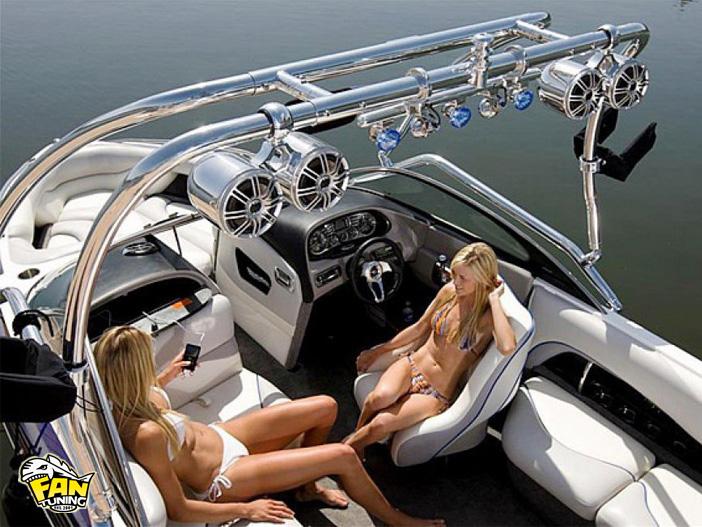 Музыка в катера, лодки, яхты, подводные лодки
