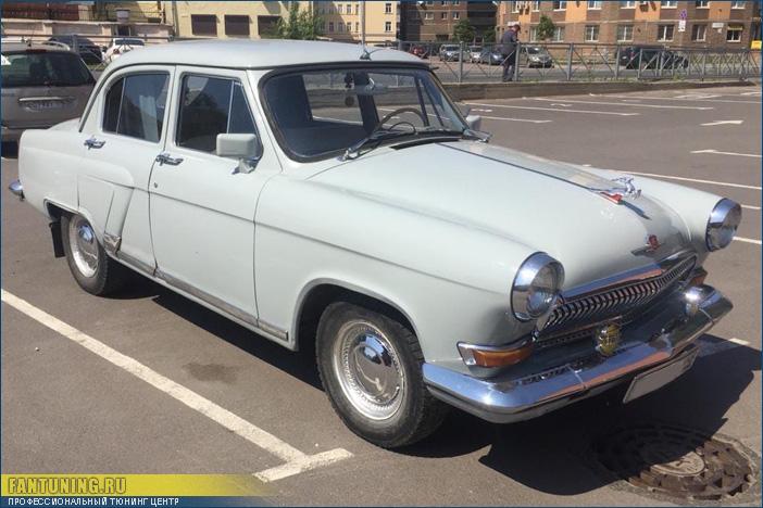 Еще одна Волга ГАЗ-21 приехала к нам на восстановление