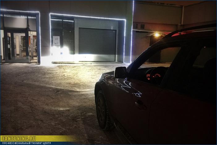 Установка биксеноновых линз в фары БМВ (BMW) X3 E83