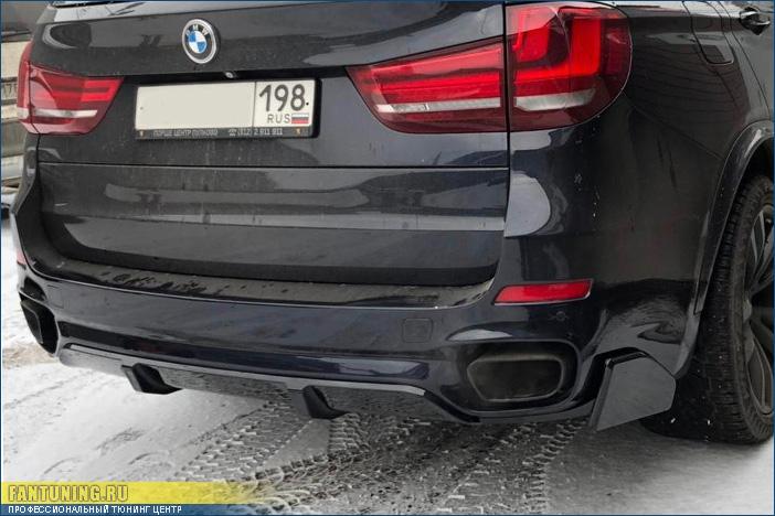 Установка пакета М-Перформанс (M-Performance) на БМВ (BMW) X5 F15