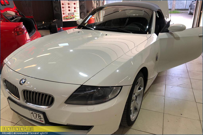 Компьютерная диагностика неисправностей складной крыши в кабриолете БМВ (BMW) Z4