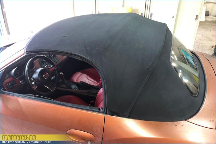 Покраска кабриолетной ткани на BMW Z4 и не только...
