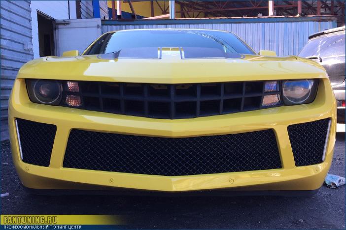 Небольшой тюнинг бамперов на Шевроле Камаро ( Chevrolet Camaro )