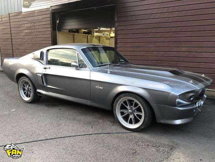 Реставрация Форда Мустанга Элеонор (Ащкв Mustang Eleonor) 1967 года выпуска