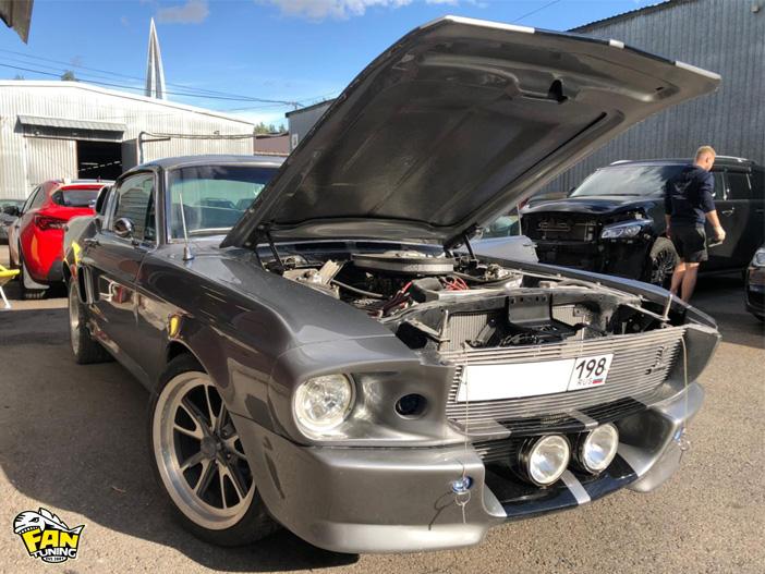 Реставрация Форда Мустанга Элеонор (Ford Mustang Eleonor) 1967 года выпуска