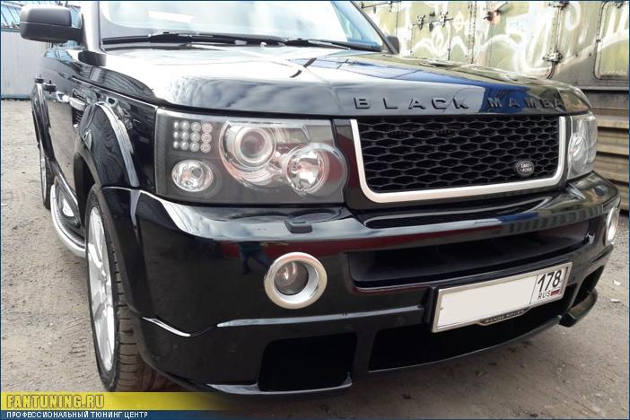 Переустановка обвеса Kahn на Рейндж Ровере Спорт (Range Rover Sport)