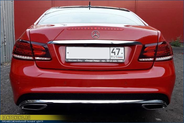 Кузовной ремонт Мерседеса (Mercedes-Benz) C207