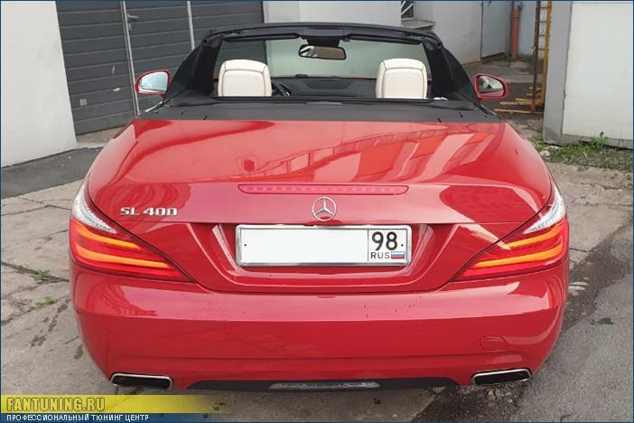 ТО кабриолета Mercedes-Benz SL R231