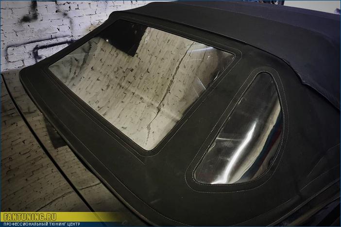 Mercedes SL500 W129 - замена кабриолетного стекла