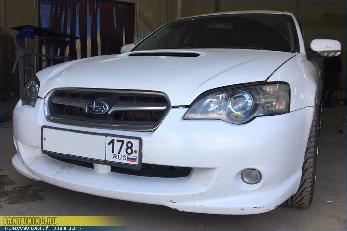 Полировка фар на Субару Аутбэке (Subaru Outback)