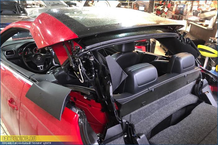 Сезонное техническое обслуживание (ТО) кабриолета VW EOS